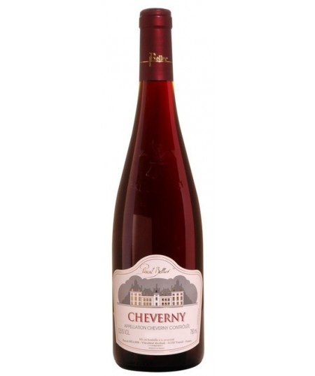 CHEVERNY ROUGE AOP - Pascal Bellier
