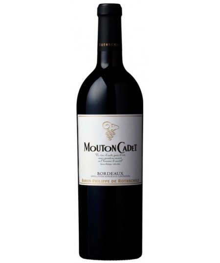 MOUTON CADET ROUGE - BORDEAUX AOP